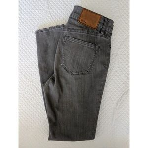 J. Crew Gray Lookout High Rise Skinny - 27P